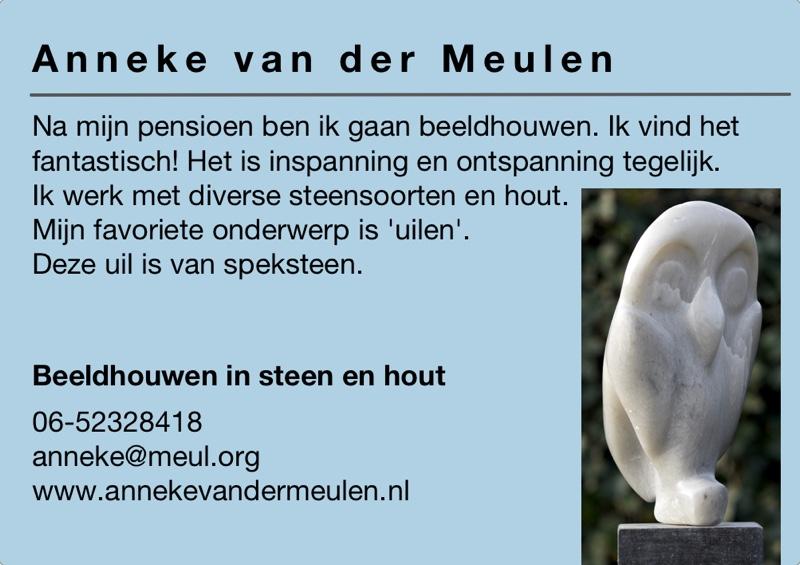 Kunst in de Tuinen 2016 Anneke van der Meulen