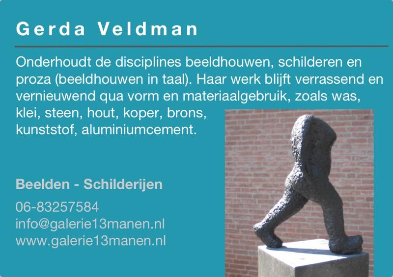 Kunst in de Tuinen 2016 Gerda Veldman