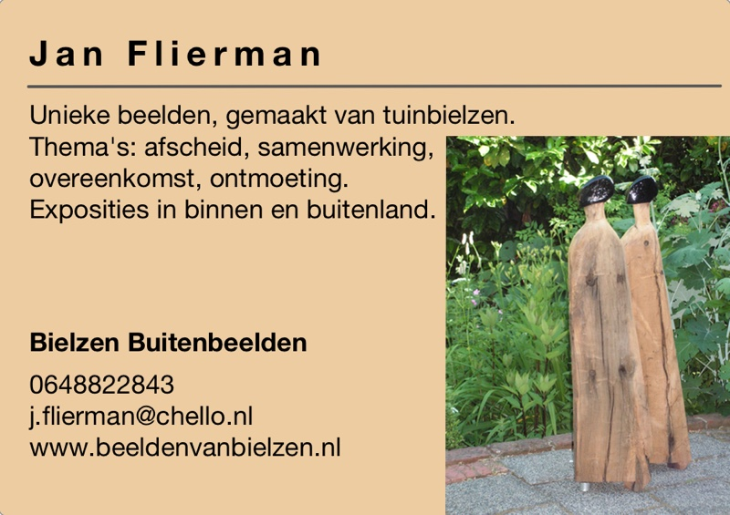 Kunst in de Tuinen 2016 Jan Flierman
