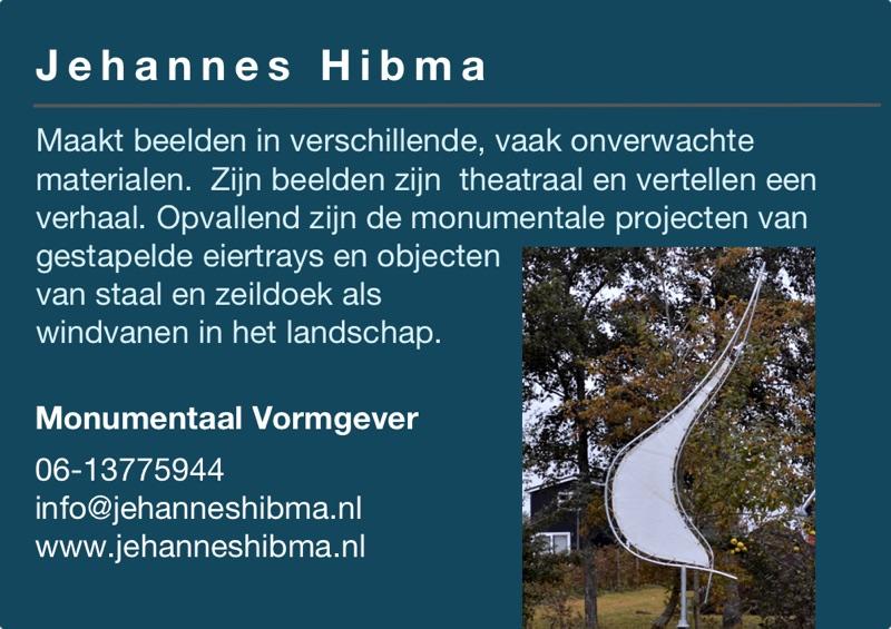 Kunst in de Tuinen 2016 Jehannes Hibma