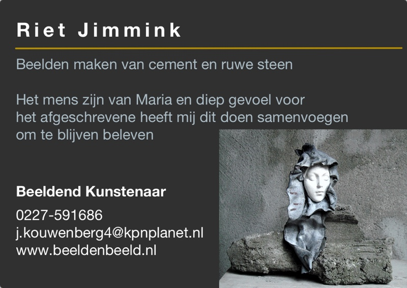 Kunst in de Tuinen 2016 Riet Jimmink