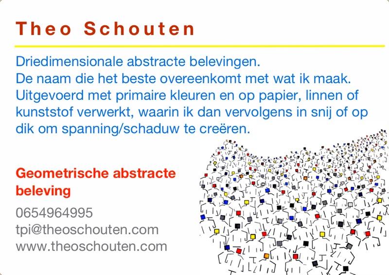 Kunst in de Tuinen 2016 Theo Schouten