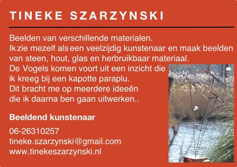 Kunst in de Tuinen 2016 Tineke Szarzynski