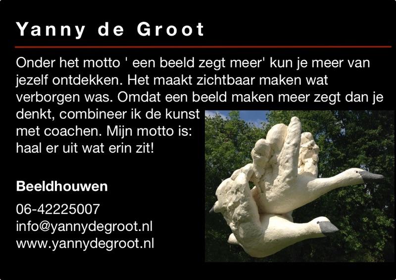 Kunst in de Tuinen 2016 Yanny de Groot